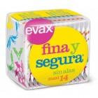 Compresa Evax Fina Segura Maxi 14un <hr>0.13€ / Unidad