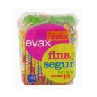 Compresa Evax Fina Segura Normal 16un <hr>0.12€ / Unidad