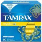 Tampax Regular 30un <hr>0.14€ / Unidad