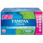 Tampax Compak Super 36un <hr>0.15€ / Unidad