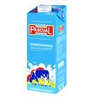 Leche Pascual Semidesnatada 1 L <hr>0.96€ / Litro.