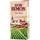 Vino Don Simon Tinto Brick 1 Litro 12,5° <hr>1.13€ / Litro.