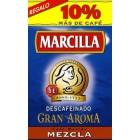 Café Marcilla Molido Descafeinado Mezcla 250 Gramos <hr>9.88€ / Kilo.