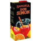 Sangría Don Simon Brick 7° 1 Litro <hr>1.17€ / Litro.