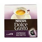 Café Dolce Gusto Espresso Ristretto 16 Dosis <hr>37.68€ / Kilo.