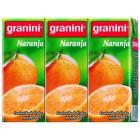 Nectar Granini Naranja  Mini Brick 200 Pack De 3 Unidades <hr>2.02€ / Litro.