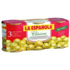 Aceitunas Rellenas De Anchoas La Española Pack 3 Latas <hr>16.16€ / Kilo.