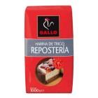 Harina Gallo Repostería 1 Kilo <hr>1.03€ / Kilo.