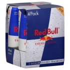 Red Bull 25 Cl. Pack 4 Unidades <hr>18.20€ / Litro.