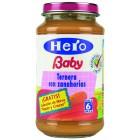 Tarrito Hero Baby Ternera Zanahoria 250 Gramos <hr>3.96€ / Kilo.