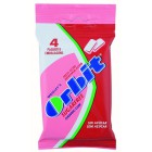 Chicle Orbit Fresa Acida En Grageas Pack De 4 Unidades