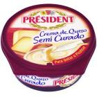 Crema President De Queso Semi Curado 125g <hr>11.76€ / Kilo.