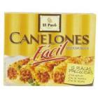 Pasta Para Canelones El Pavo Instant 12 Placas 80 Gramos <hr>11.62€ / Kilo.