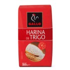Harina Gallo 500 Gramos <hr>1.14€ / Kilo.