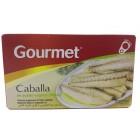 Caballa Gourmet En Aceite Vegetal 65 Gramos <hr>18.77€ / Kilo.