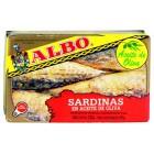 Sardinas Albo Aceite Oliva 120 Gramos