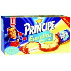 Galletas Príncipe Estrellas Chocolate Blanco 150 Gramos