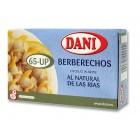 Berberechos Pequeños Dani 65 Piezas Aprox 63 Gramos <hr>67.62€ / Kilo.