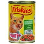 Comida Gatos Pollo/conejo/verduras 400g Friskies <hr>2.60€ / Kilo.