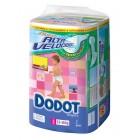 Pañal Dodot Absorción 3D Talla 5 13-18k 70 un <hr>0.25€ / Unidad