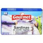 Sardinas En Aceite Vegetal Gourmet Lata 88gr