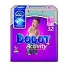 Pañal Dodot Activity Talla 5 13-18k 32ud <hr>0.35€ / Unidad