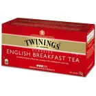 Té English Breakfast Twinings 25 Ud <hr>0.10€ / Unidad