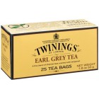 Té Early Grey Twinings 25 Ud <hr>0.10€ / Unidad