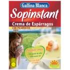Crema De Espárragos Sopinstant Gallina Blanca 3 Sobres De 57 Gr
