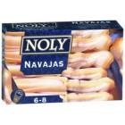 Navajas En Aceite Noly 6/8 Piezas 120 Gr <hr>25.83€ / Kilo.