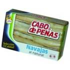 Navajas En Aceite Cabo De Peñas 6/8 Piezas 111 Gr <hr>25.50€ / Kilo.