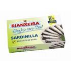 Sardinillas Bajas En Sal Rianxeira 90 Gr