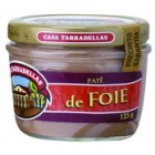 Paté De Foie Tarradellas Bote De Cristal 125 Gr <hr>7.12€ / Kilo.