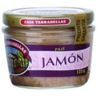 Paté De Jamón Tarradellas Bote De Cristal 125 Gr