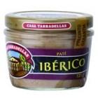 Paté Ibérico Tarradellas Bote De Cristal 125 Gr <hr>7.52€ / Kilo.