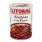 Alubias A La Vasca Litoral 430 Gr <hr>4.98€ / Kilo.