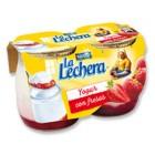 Yogurt Con Fresa La Lechera 2 Ud De 125 Gr <hr>4.00€ / Kilo.