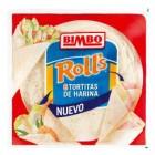 Tortitas De Harina Bimbo Rolls 6 Ud