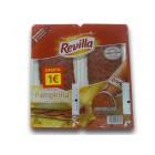 Chorizo Pamplona Revilla Lonchas 90 Gr <hr>11.00€ / Kilo.
