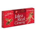 Jalea Real + Ginseng 10 Ampollas