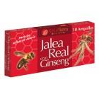 Jalea Real + Ginseng 10 Ampollas <hr>5.57€ / Unidad