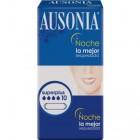 Compresa Ausonia Noche 10 Ud <hr>0.20€ / Unidad