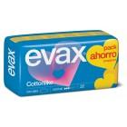 Compresa Evax Cotton Alas Normal 32 Ud <hr>0.14€ / Unidad