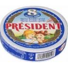 Quesitos President 8 Porciones 125 Gr. <hr>7.44€ / Kilo.