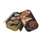 Hojas Finas De Chocolate Con Leche 30 Gr Lata <hr>1.12€ / 100 gr.