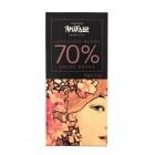 Chocolate 70% Cacao Ghana 70 Gr Amatller <hr>0.34€ / 100 gr.