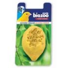 Corrector Mineral Periquitos y Canarios Limón Biozoo <hr>0.54€ / 100 gr.
