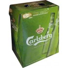 Cerveza Carlsberg 25 Cl Pack-6 5º <hr>2.27€ / Litro.