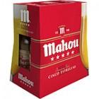 Cerveza Mahou 5 Estrellas 25cl Pack-6 5,5º <hr>2.10€ / Litro.