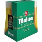 Cerveza Mahou Clásica 25cl Pack-6 4,8º <hr>1.84€ / Litro.